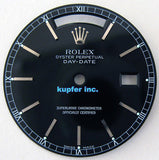 "Rolex Mens Day-Date/""Presidential"" Dial - Black - Kupfer Jewelry - 1"