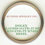 Rolex Ladies President, Date-Just, Date Bezel - Engine Turned - Kupfer Jewelry - 2