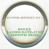 Rolex Ladies President, Date-Just, Date Bezel - Smooth - Kupfer Jewelry - 1