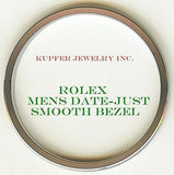 Rolex Mens President, Date-Just, Date Bezel - Smooth - Kupfer Jewelry - 1