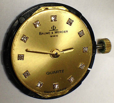 Baume & Mercier Baume & Mercier Factory Dial with Quartz Movement - Champagne and Diamonds - Kupfer Jewelry - 1