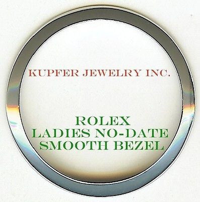 Rolex Ladies No-Date Bezel - Smooth - Kupfer Jewelry - 1