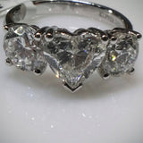 Kupfer Jewelry Diamond Hand-Made Ring by Kupfer Jewelry Design  (With EGL certificate for heart) - Kupfer Jewelry - 1