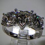 Kupfer Jewelry Diamond Hand-Made Ring by Kupfer Jewelry Design  (With EGL certificate for heart) - Kupfer Jewelry - 2