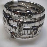 Kupfer Jewelry Braids and Diamonds White Gold Ring by Kupfer Jewelry Design - Kupfer Jewelry - 2