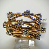 "Kupfer Jewelry ""COIL"" with Diamonds Rose Gold Ring by Kupfer Design - Kupfer Jewelry - 2"