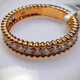 "Kupfer Jewelry Rose Gold Diamond ""Beaded"" Ring by Kupfer Design - Kupfer Jewelry - 1"