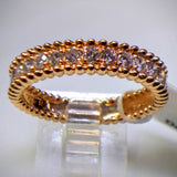 "Kupfer Jewelry Rose Gold Diamond ""Beaded"" Ring by Kupfer Design - Kupfer Jewelry - 2"
