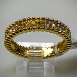 "Kupfer Jewelry Yellow Gold Diamond ""Beaded"" Ring by Kupfer Design - Kupfer Jewelry - 2"