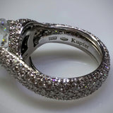 Verdi Verdi Micro-Pavé 18kwg Engagement Ring (Mounting Only) - Kupfer Jewelry - 4