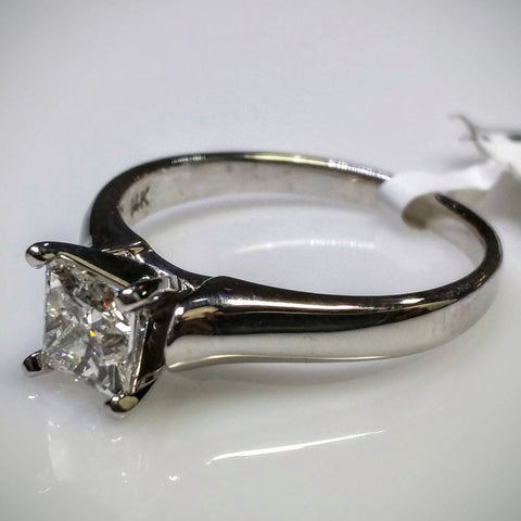 EmilyK. Engagement Ring in White Gold by EmilyK. - Kupfer Jewelry - 1