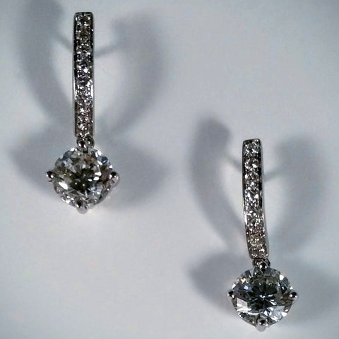 "Kupfer Jewelry Diamond ""Perfection"" Earrings, Hand-Made - Kupfer Jewelry - 1"