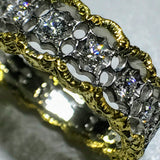 Ladispoli - 18K Yellow Gold and White Gold