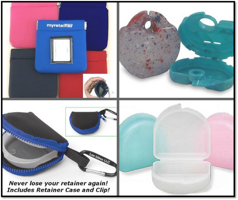 DentaKit offers a great selection of cool and stylish retainer cases for orthodontic patients
