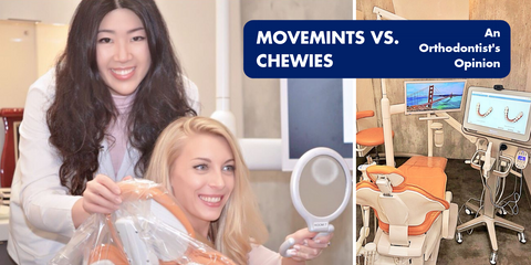 Movemints vs. Invisalign Chewies: An Orthodontist's Opinion