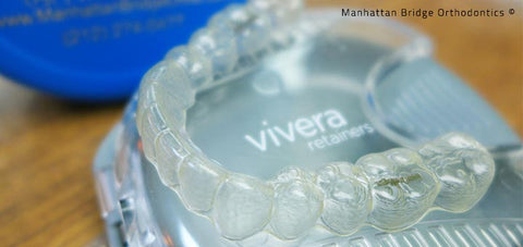 Picture of Vivera Retainers from Manhattan Bridge Orthodontics