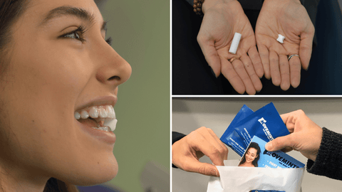 Movemints clear aligner mints are a edible chewies Invisalign