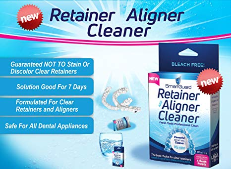SmartGuard Retainer Cleaner and Case is a Must Have Accessory