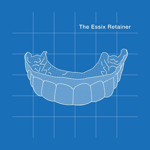 The Essix retainer is a clear type of retainer similar to invisalign trays