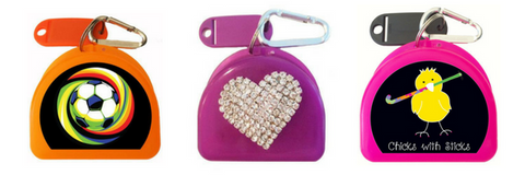 Zumoe makes cute retainer cases that clip to other bags and are perfect for your invisalign teen