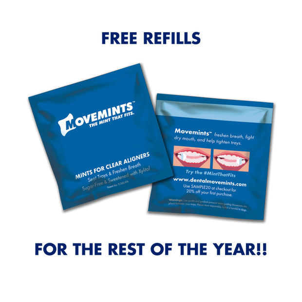 Free Sample Upgrade for 2019 (AAO) - Movemints, The Mint That Fits