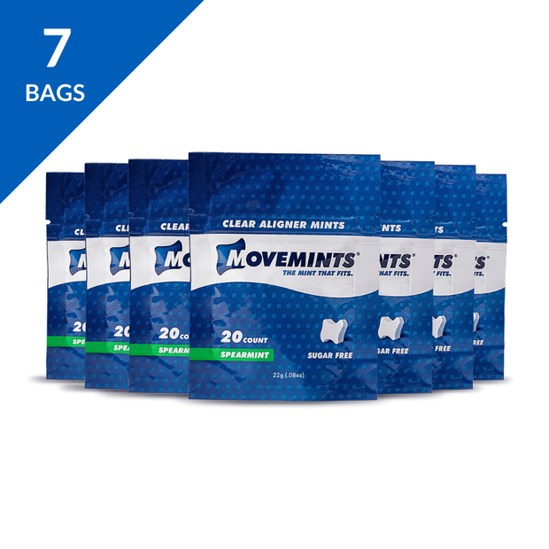 Essential Aligner Accessories | Monthly Refill Pack - Movemints, The Mint That Fits