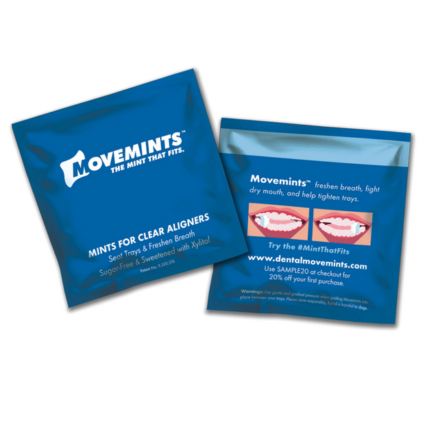 Movemints Patient Samples - Diamond Package - Movemints, The Mint That Fits