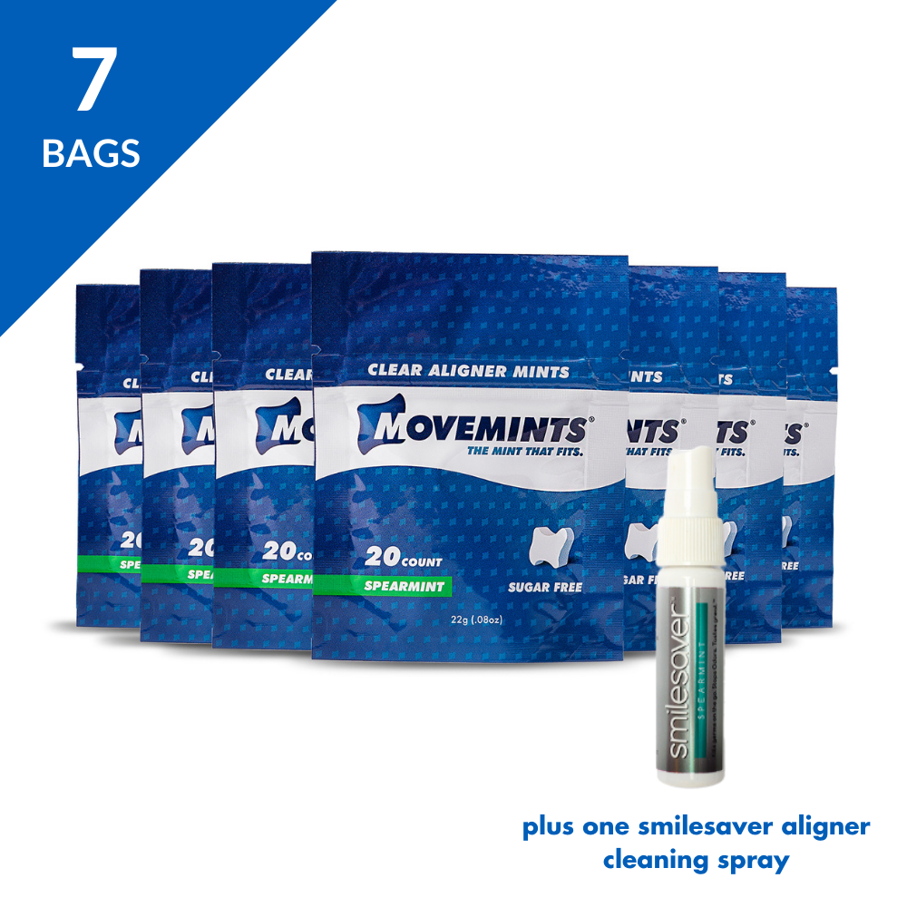 Smile Monthly Deluxe | 7 Movemints + SmileSaver Spray - Movemints