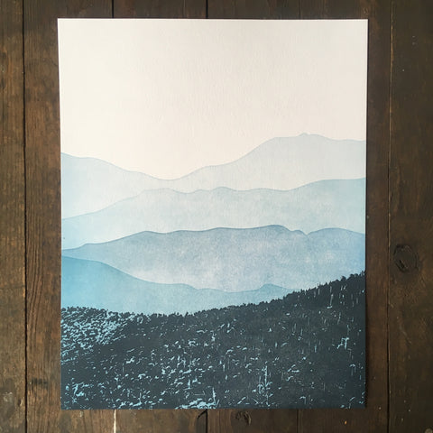 Blue Ridge Mountain - Print