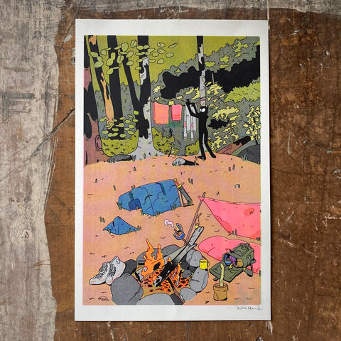 Laundry Day - Print