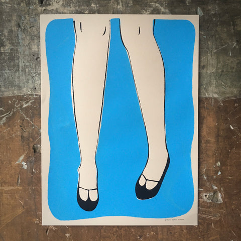 Dancing Shoes - Poster