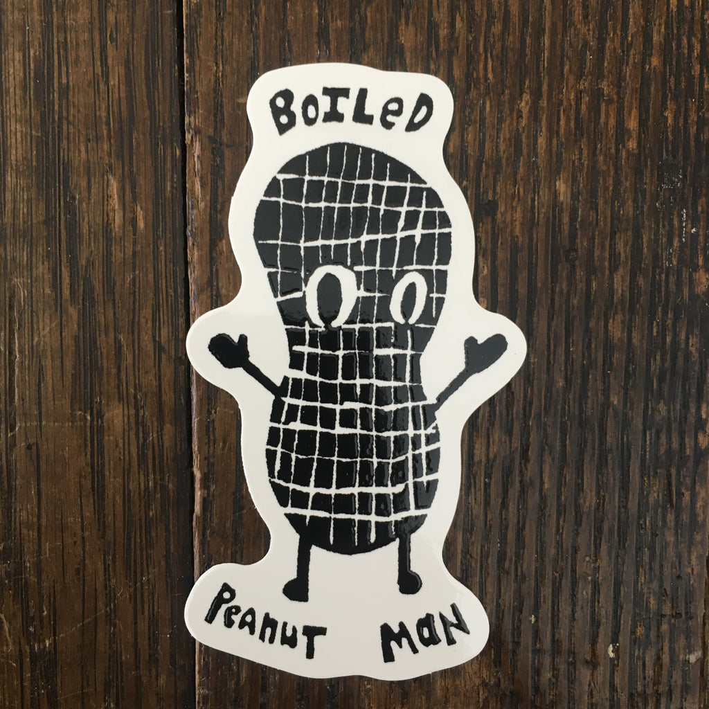 Boiled Peanut Man - Sticker