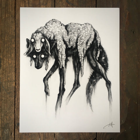 Among Sheep - Print