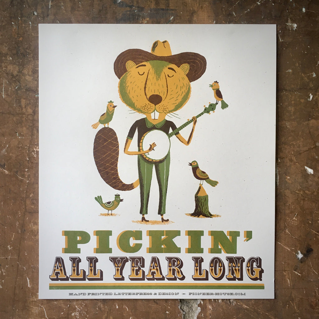 Pickin' All Year Long - Poster