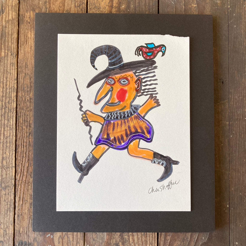 Sumac Lemonade (Red) - Framed Print