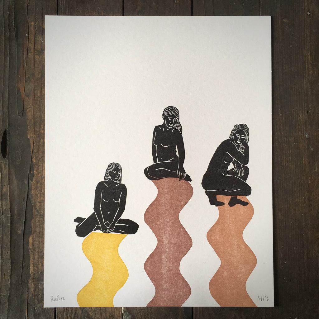 The Three Fates - Print