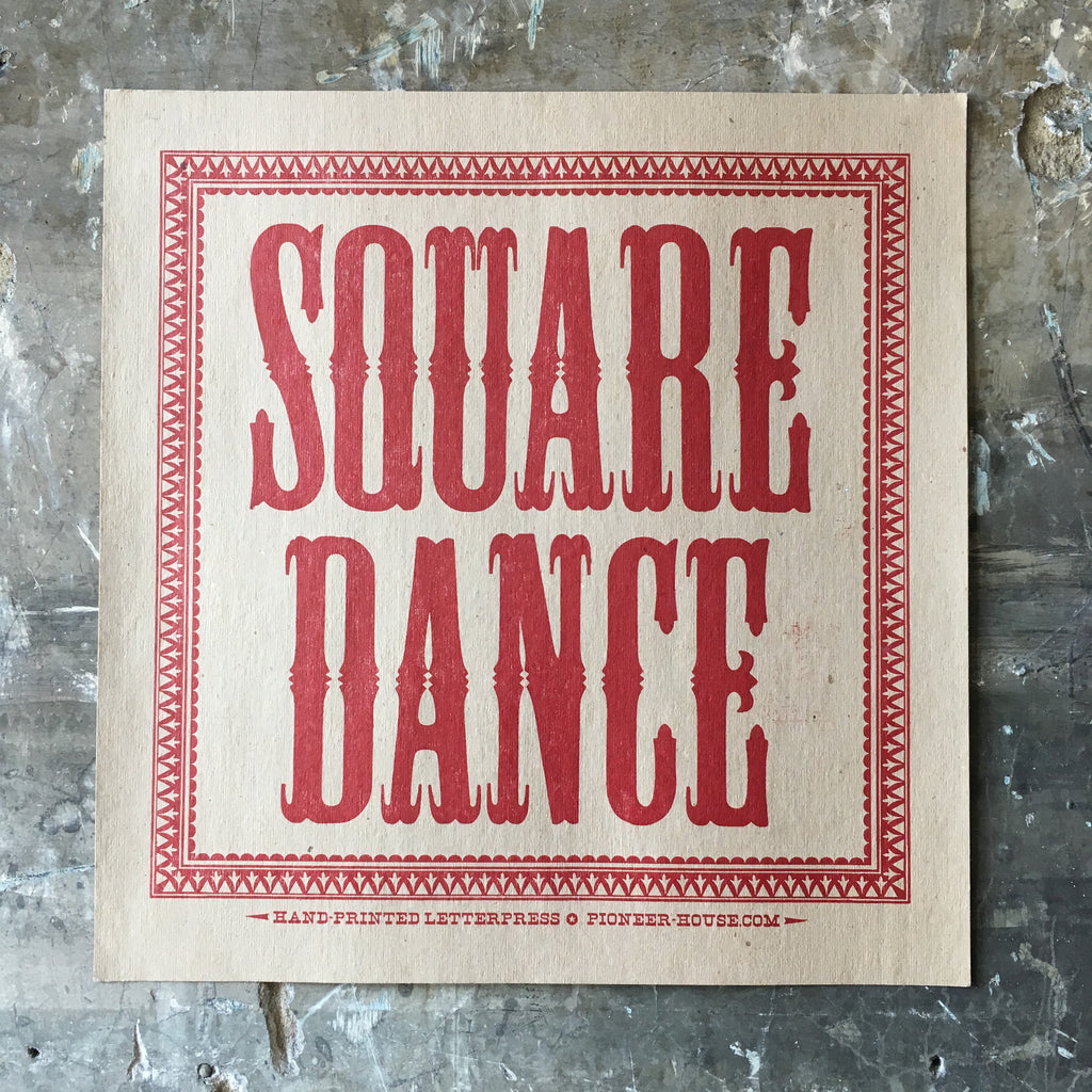 Square Dance - Poster