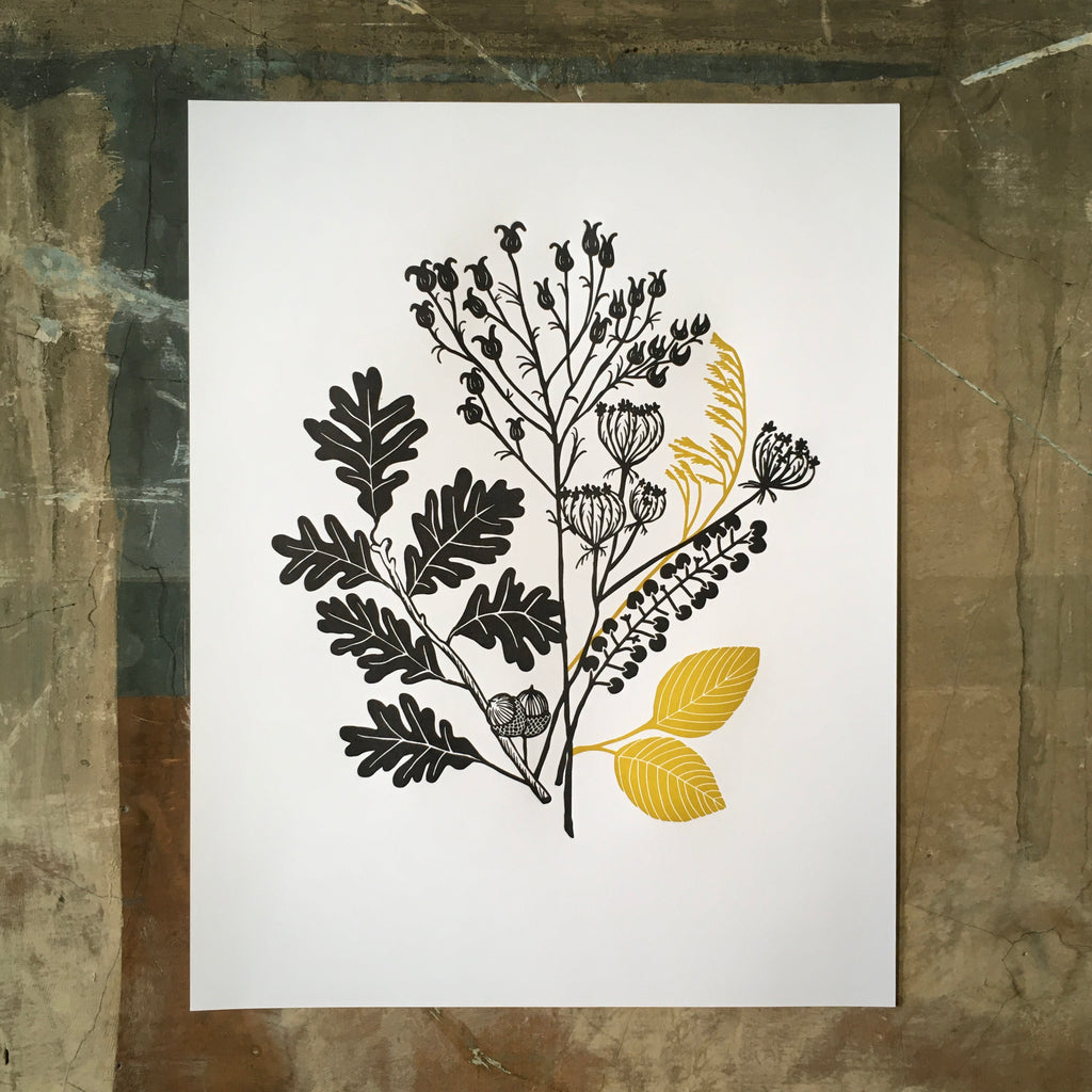 Autumn Plants - Print