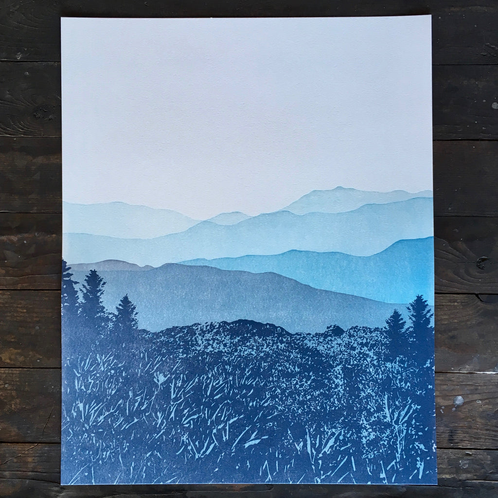 Blue Ridge Mountains - Print