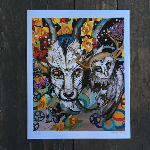 Night Goat - Print