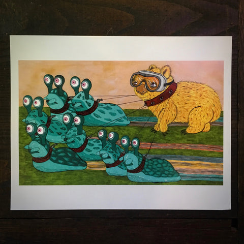 Mobs And Mollusks - Print