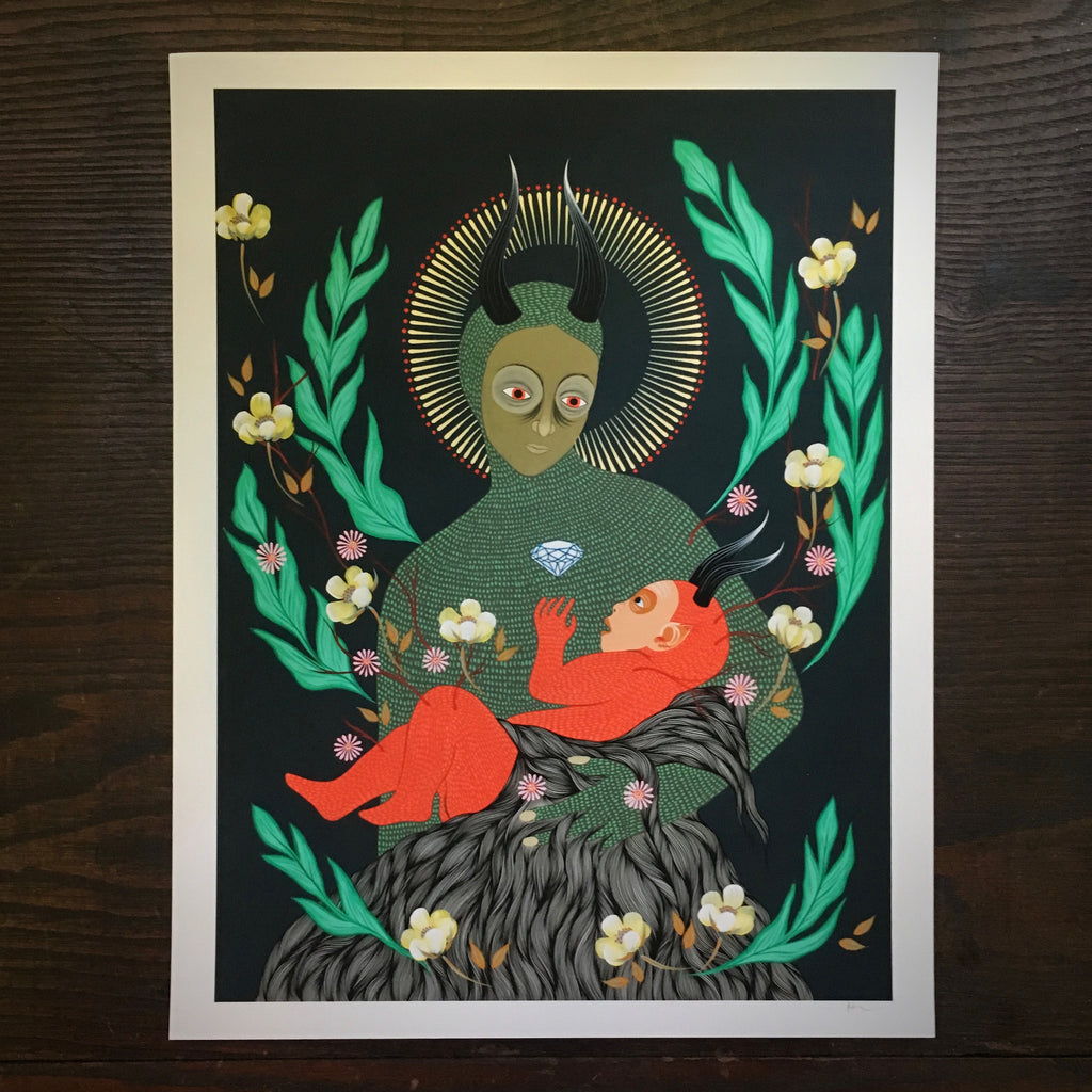 Mother And Child - Print
