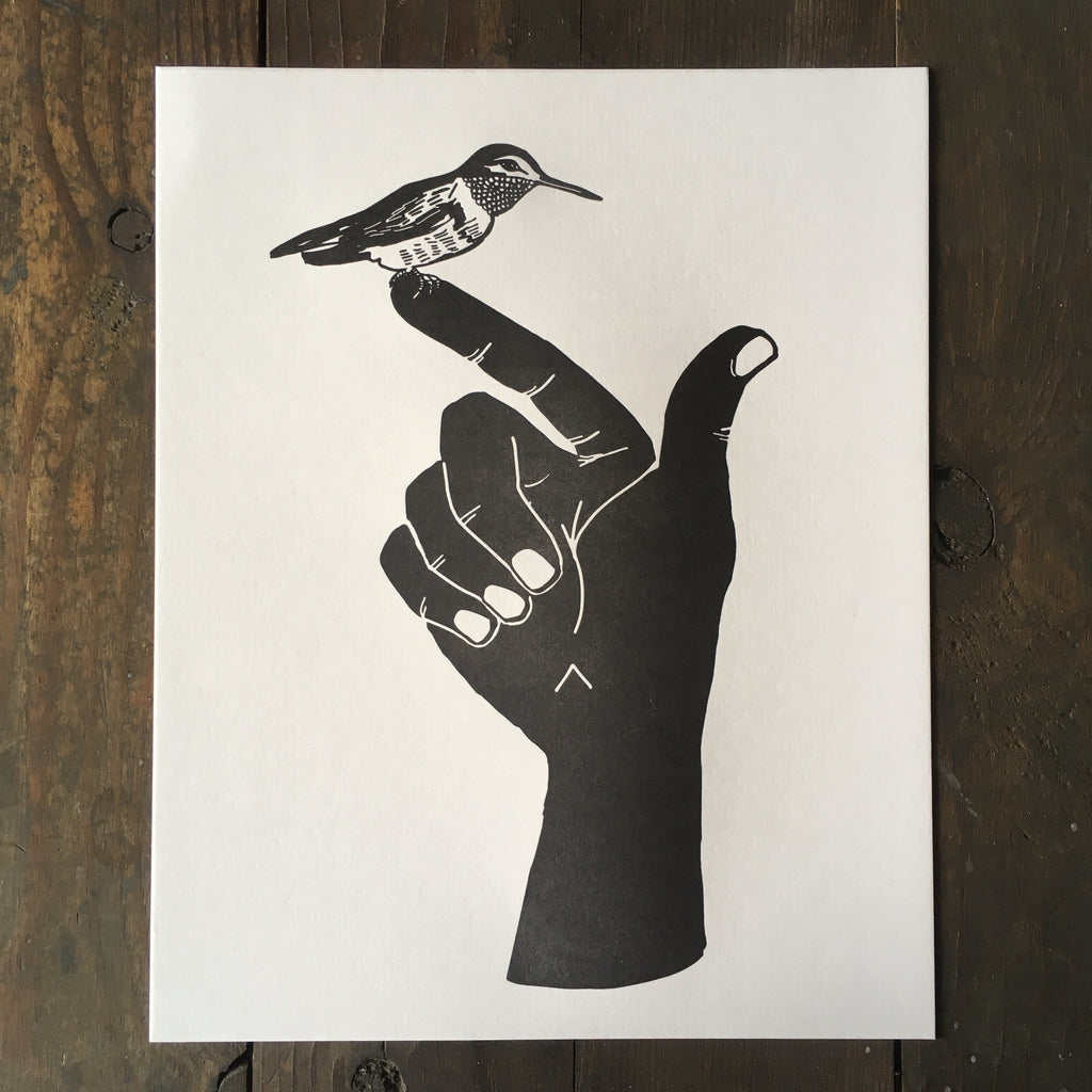 Summoning The Hummingbird - Print