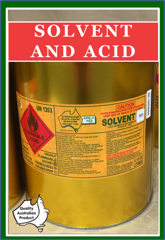Solvent and Acid