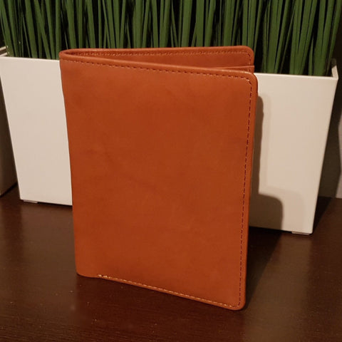 Elle Travel Wallet Small - Tan