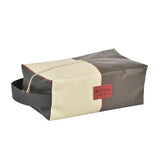 Alfred toiletry bag in oil cloth with a convenient handle made in France by Artiga, perfect for a shaving kit-Argagnon