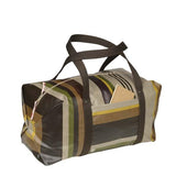 Agar oil cloth gym/week-end bag, durable , made in France by Artiga-Campan