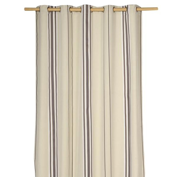 custom curtain with grommets, sewn in Toronto, Canada