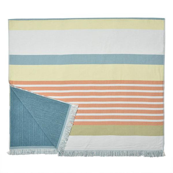 fouta with tery cloth designed by Artiga, France-Garazi (Organic Cotton)