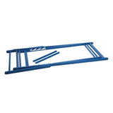 European folding deck chair-Capri blue- Bleu Capri